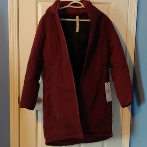 NWT Snow Warrior Parka Garnet Size 6